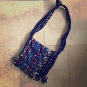 Handbags - Handmade Hobo Shoulder/Crossbody Bag w/fringe